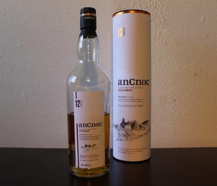 anCnoc 12 whisky waffle