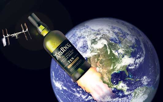 Ardbeg in space