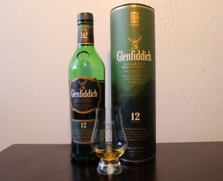 Glenfiddich 12 whisky waffle
