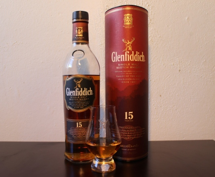 Glenfiddich 15 whisky waffle