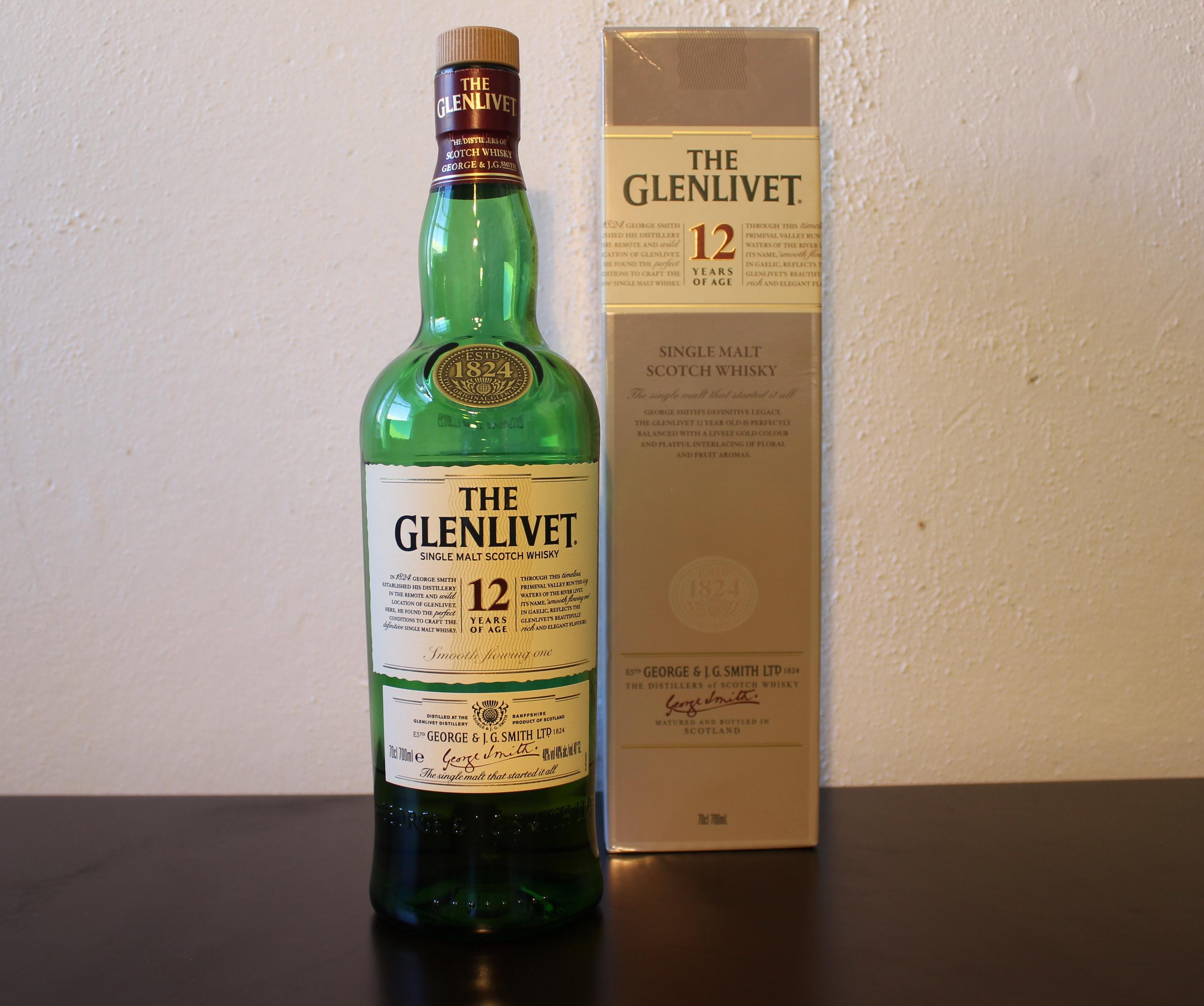 how to drink glenlivet 12
