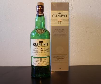 Glenlivet 12 whisky waffle