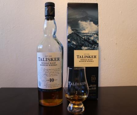 Talisker 10 whisky waffle