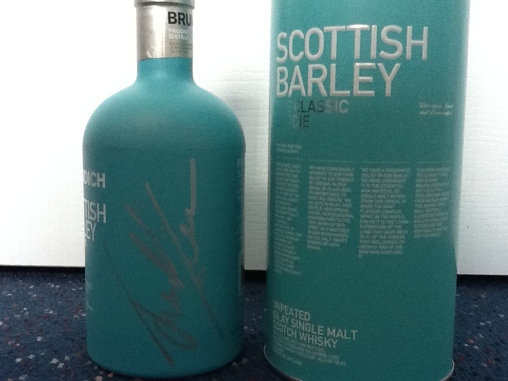 This bottle was coincidentally the same colour that Jim was wearing! And a bottle I will treasure forever.