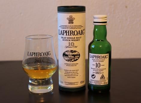 Laphroaig 10 whisky waffle