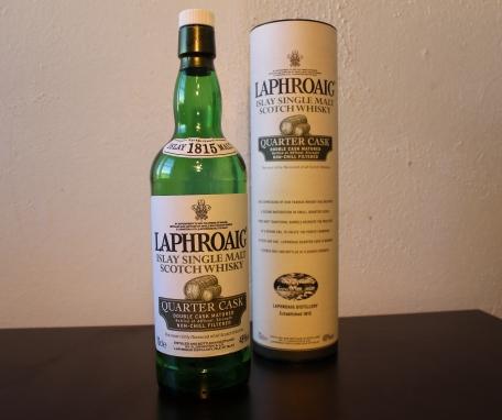 Laphroaig Quarter Cask whisky waffle