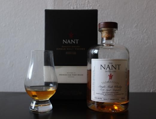 Nant Port Wood 43% whisky waffle