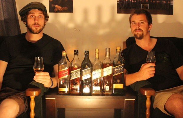 Spooky Johnnies Whisky Waffle Nick and Ted