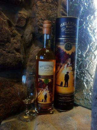 Hellyers Road 12 Year Old whisky waffle