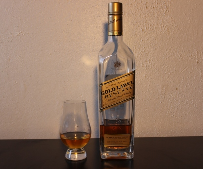 Johnnie Walker Gold Label whisky waffle