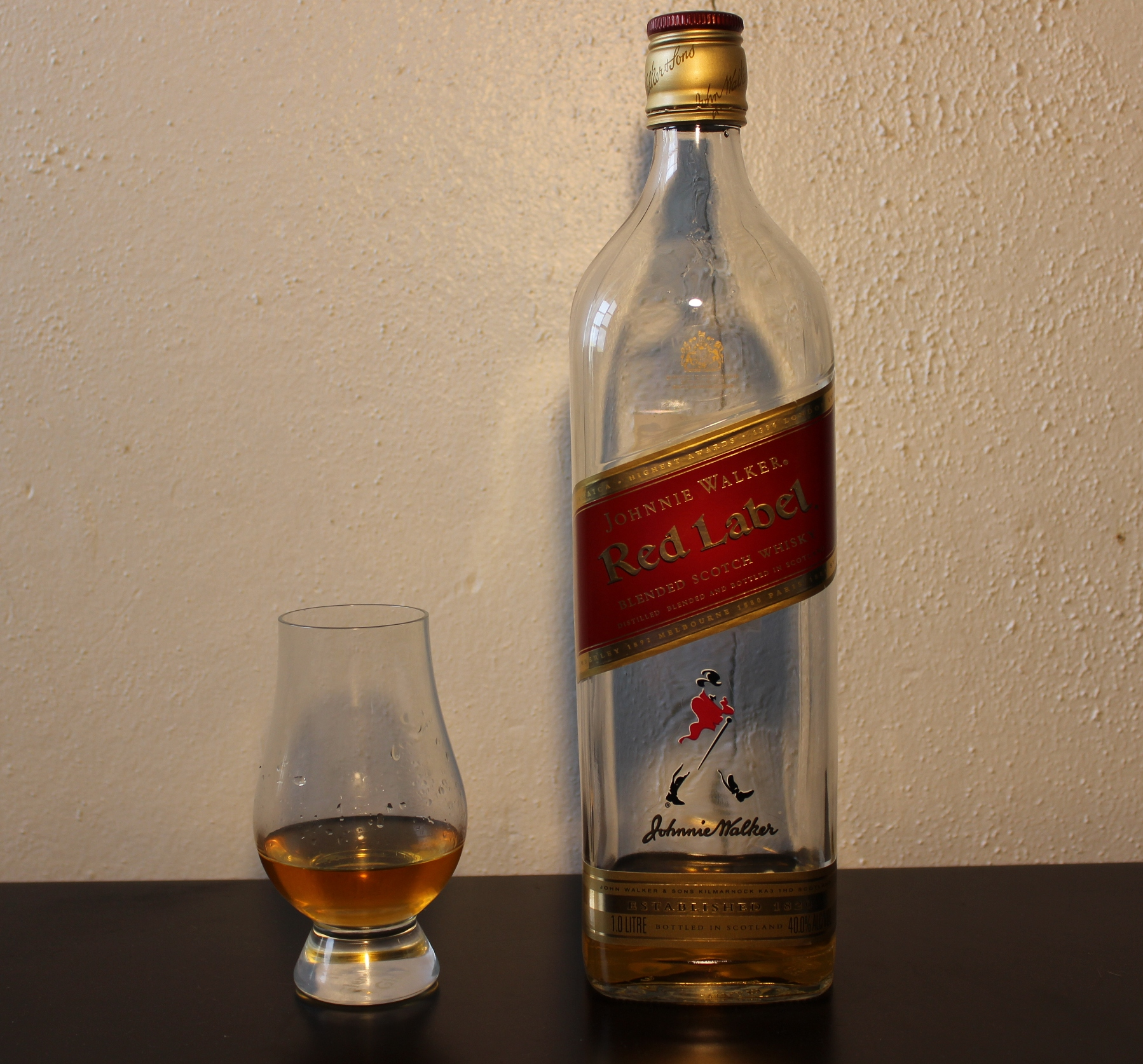 Johnnie Walker Red Label | Whisky Waffle