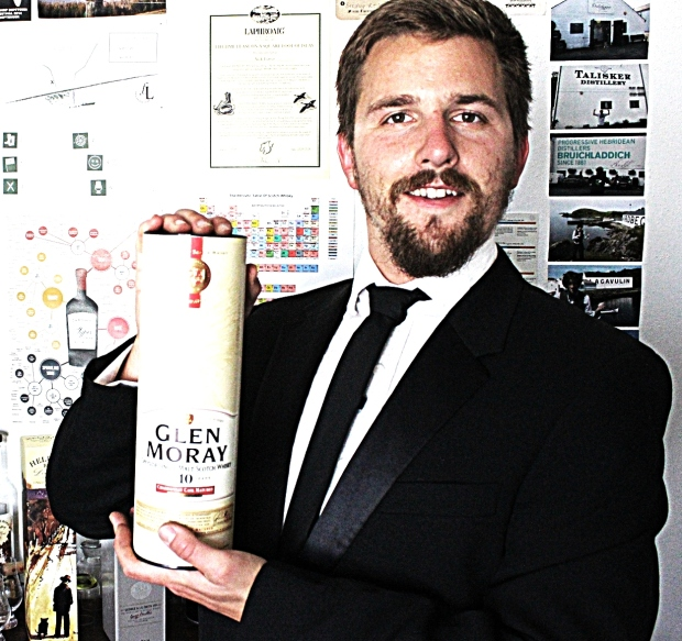2014 Glen Moray cardy whisky waffle