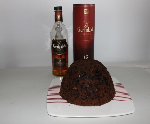 4 Glenfiddich whisky waffle