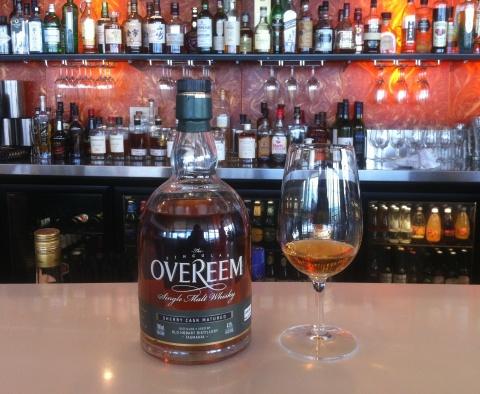 Overeem Sherry Cask whisky waffle