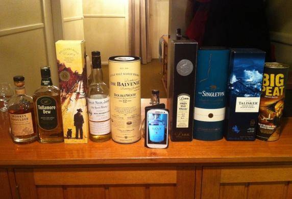 whisky waffle WANC night 2