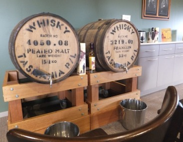 Fill a cask whisky waffle