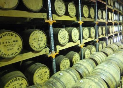 Many barrels whisky waffle