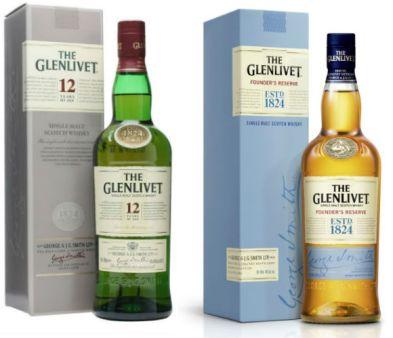 Glenlivet-bottles whisky-waffle