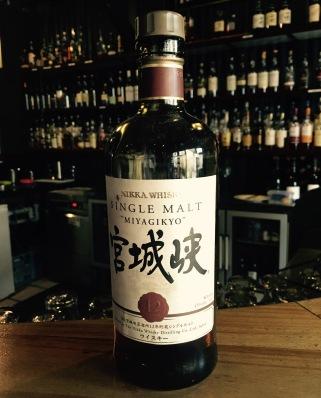 Nikka Miyagikyo whisky waffle