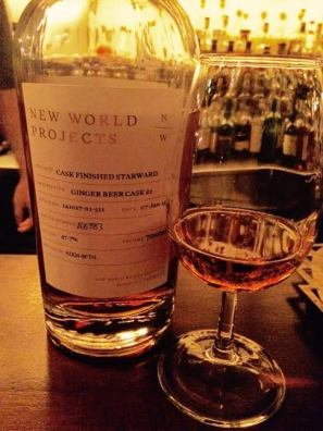 New World Projects Ginger Beer Cask
