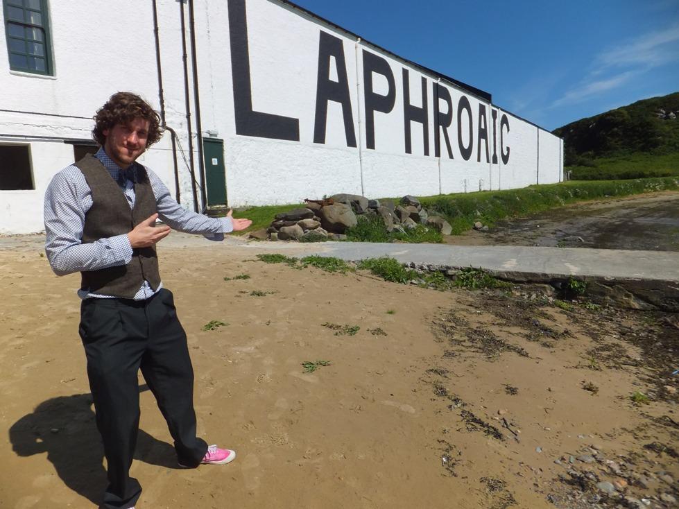 3 Laphroaig whisky waffle