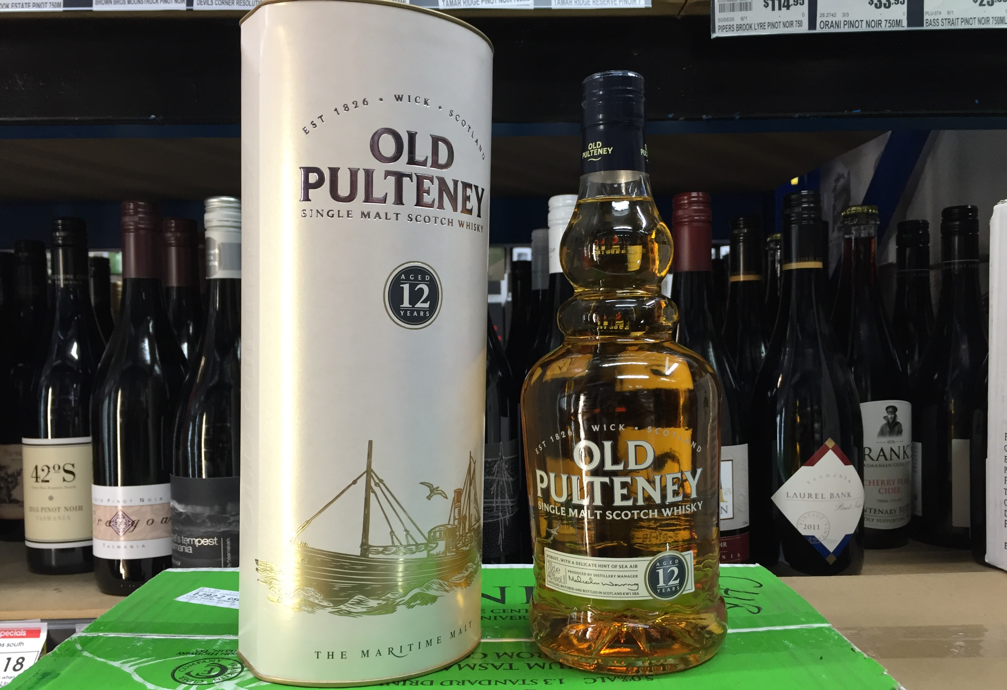 Old Pultney 12 Year old Whisky Waffle