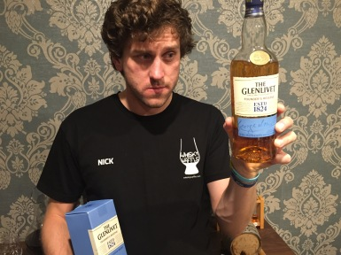 Nick and the Glenlivet Founders Reserve