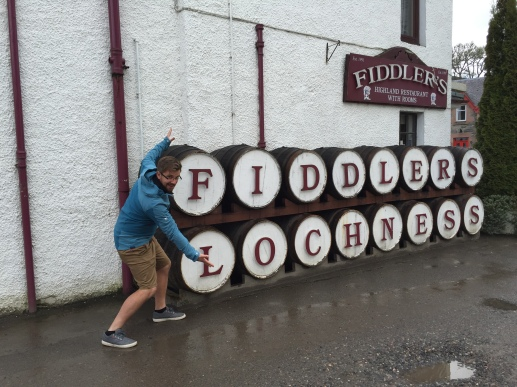 Fiddlers and Ted and barrels