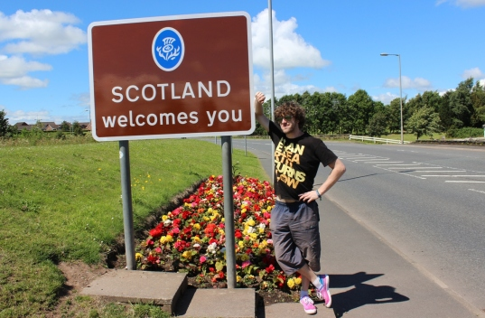 Nick in Scotland