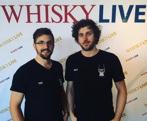 Whisky Waffle at Whisky Live