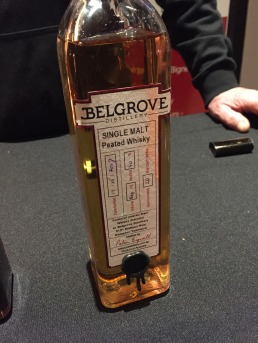 Whisky Waffle Belgrove peated malt