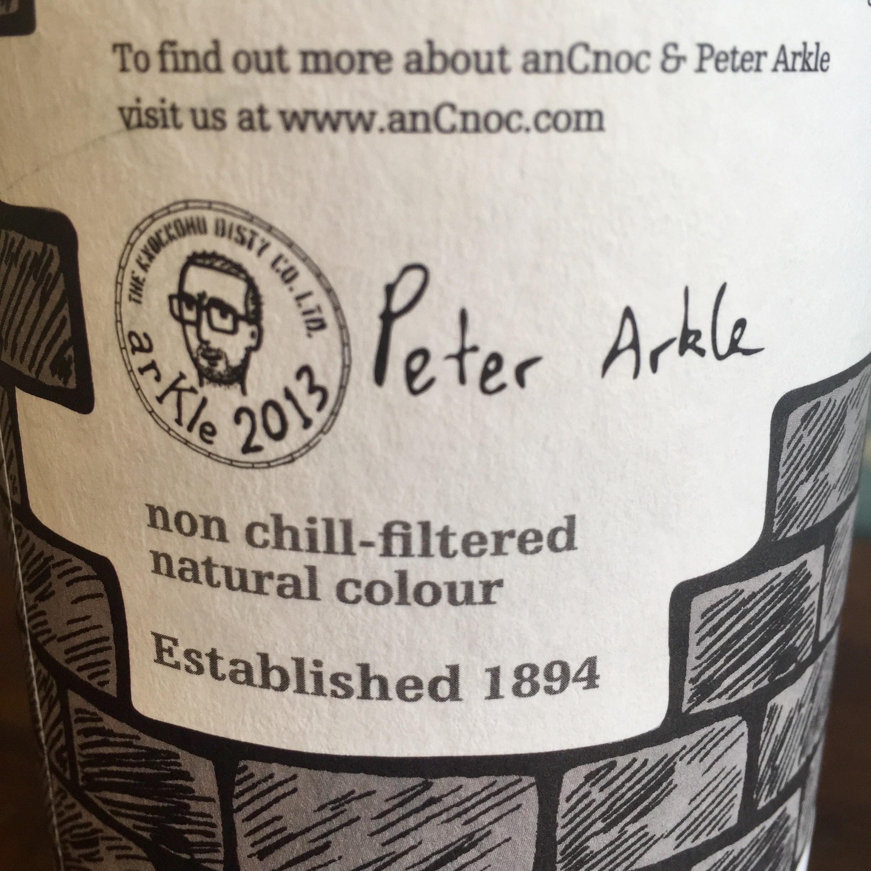 anCnoc Bricks label