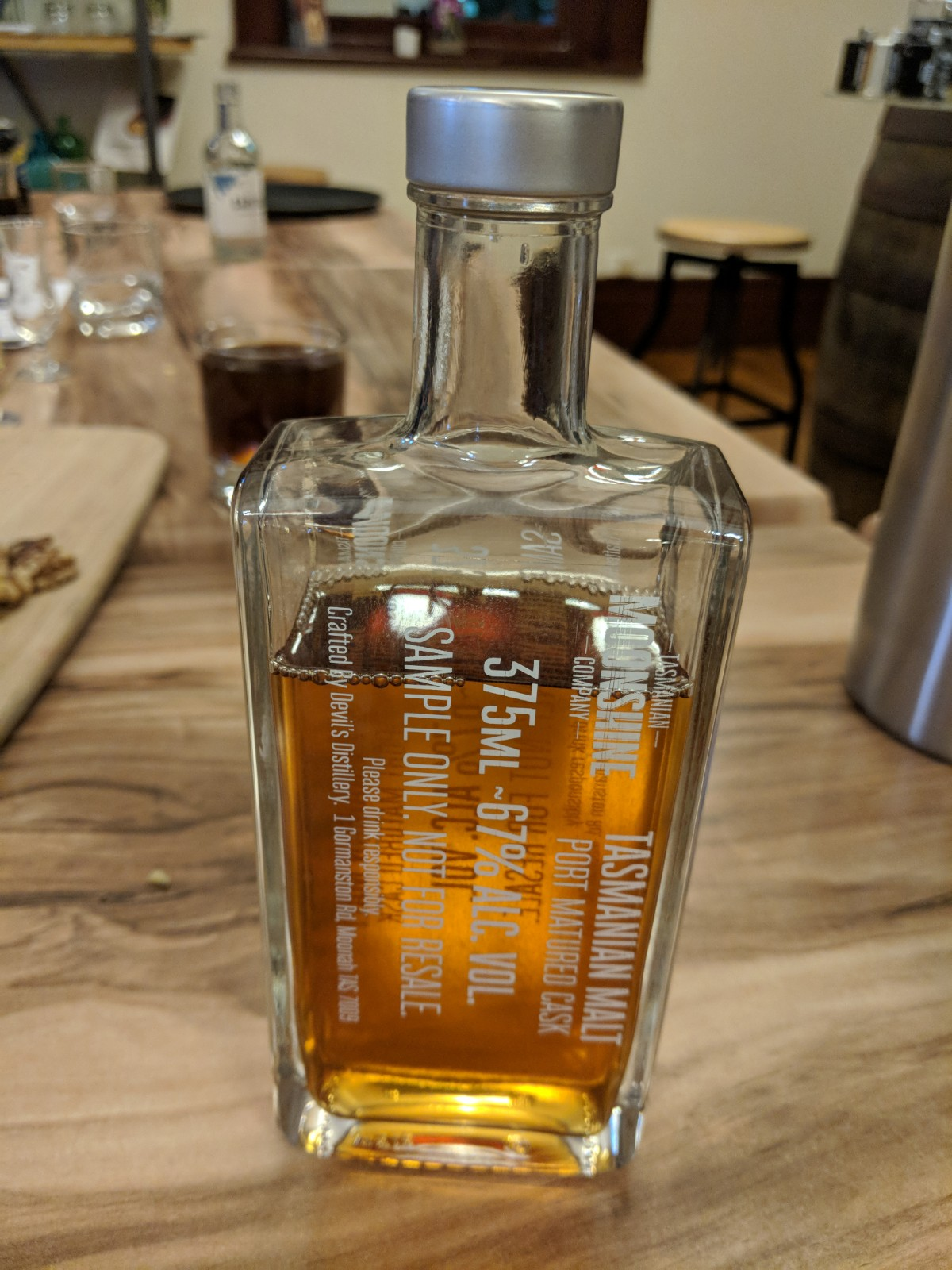 Barrel aged Whisky Waffle