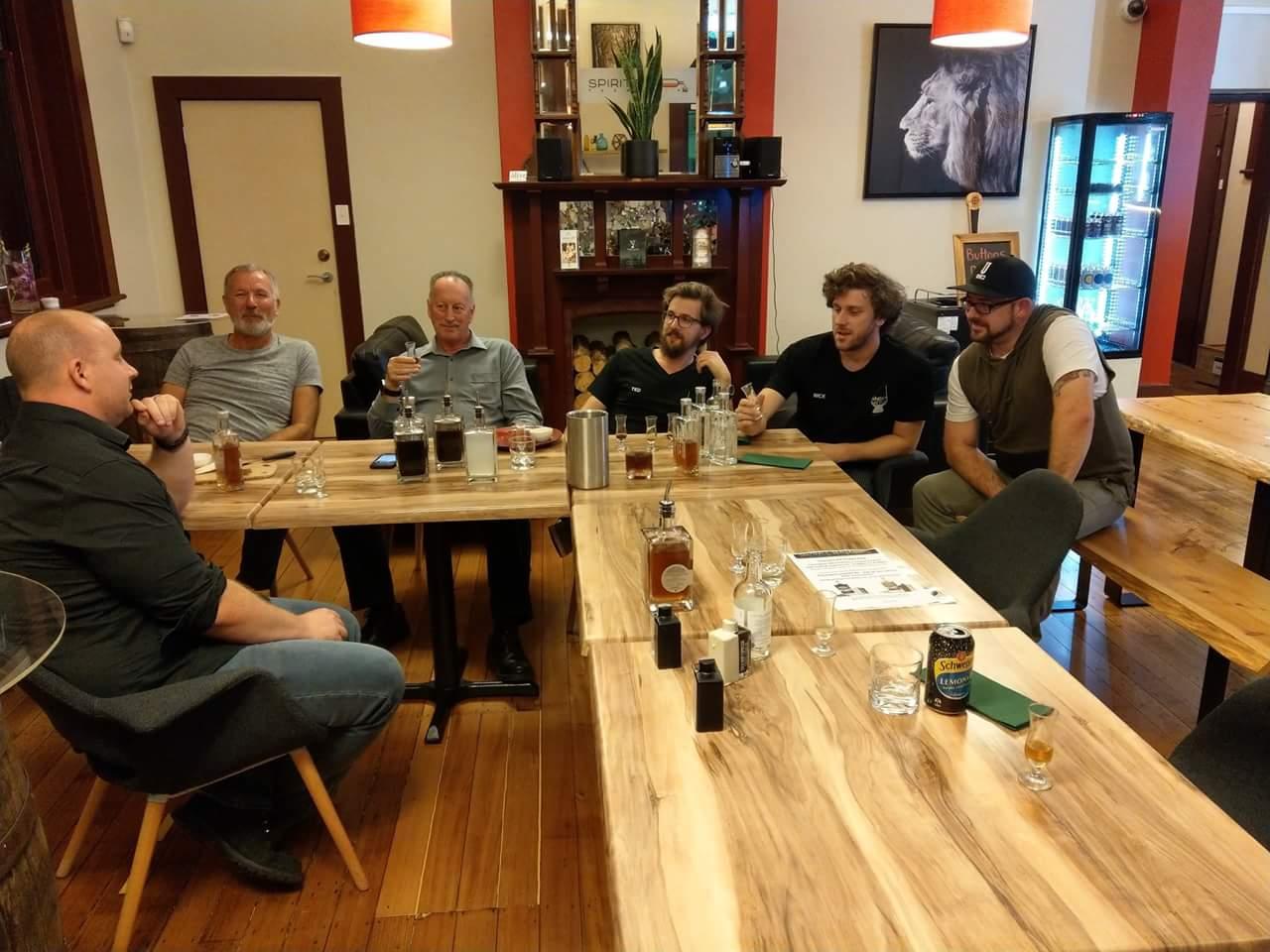 Group shot Whisky Waffle