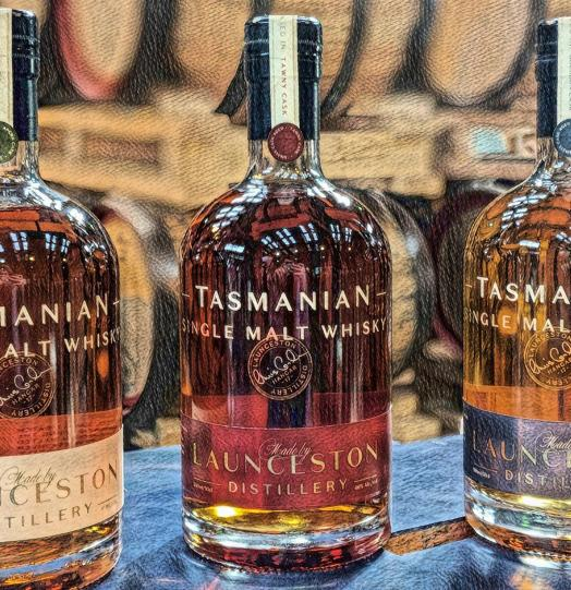 2018 Isle of the Drammed Launceston Distillery Tawny Cask
