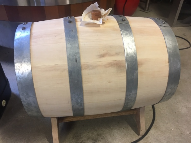 Sandy Gray barrel
