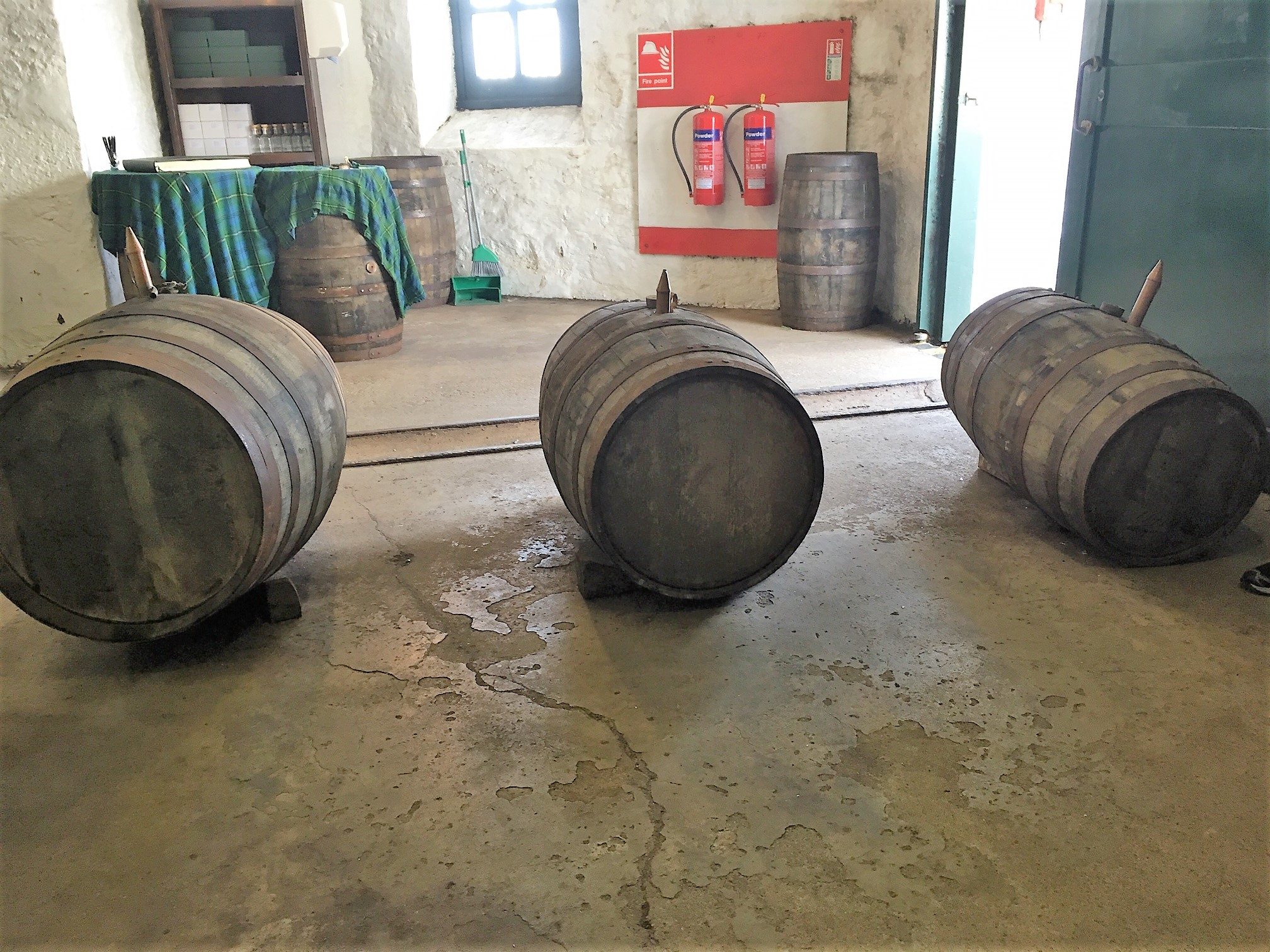 WW 2 casks