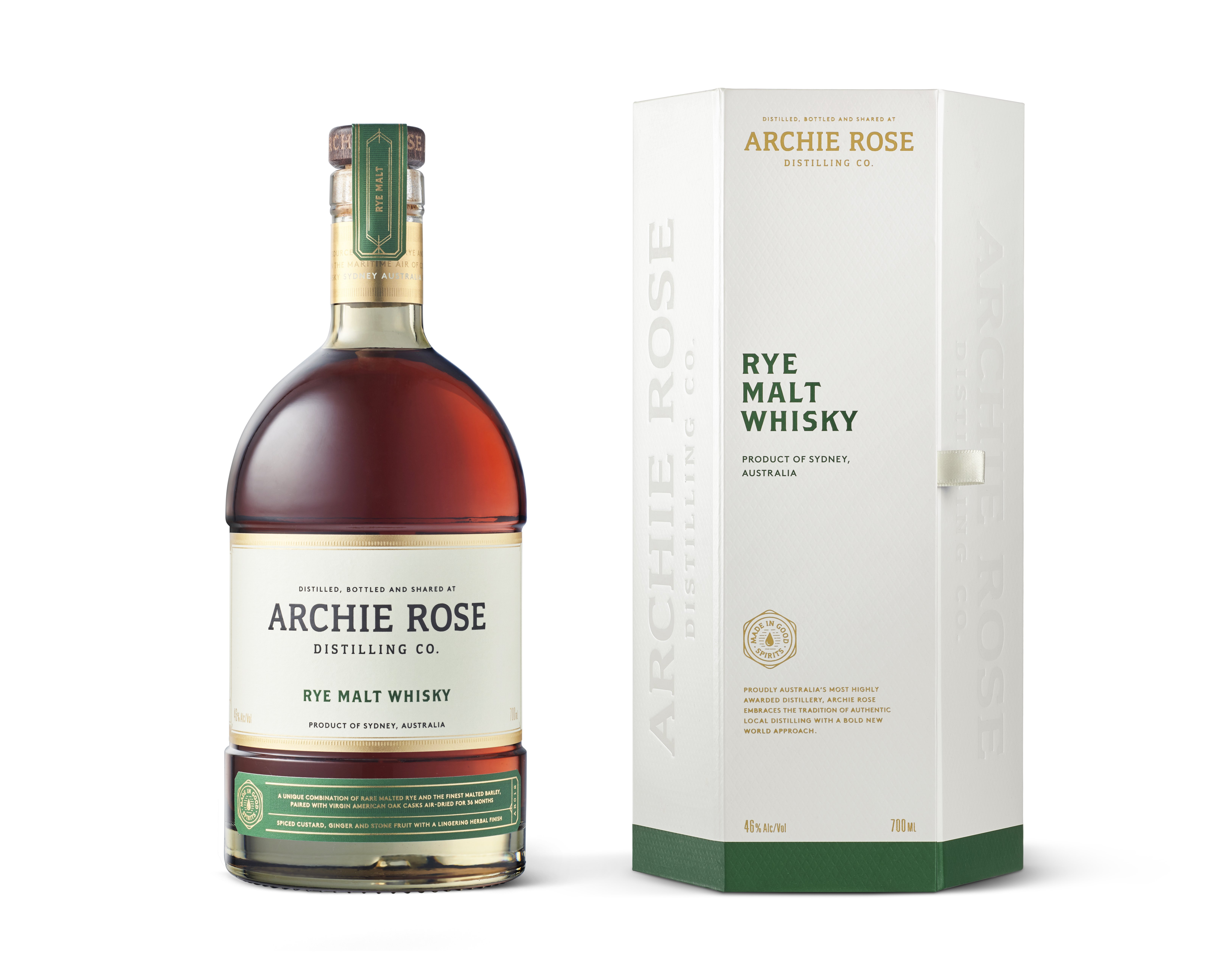 Archie Rose Rye Malt Whisky